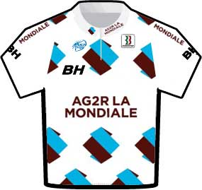 ag2r Tour de France 2009 team jersey