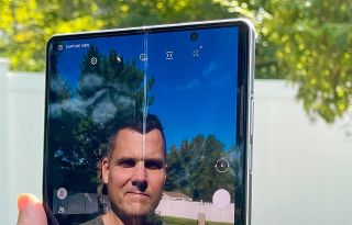Galaxy Z Fold 3 under-display camera