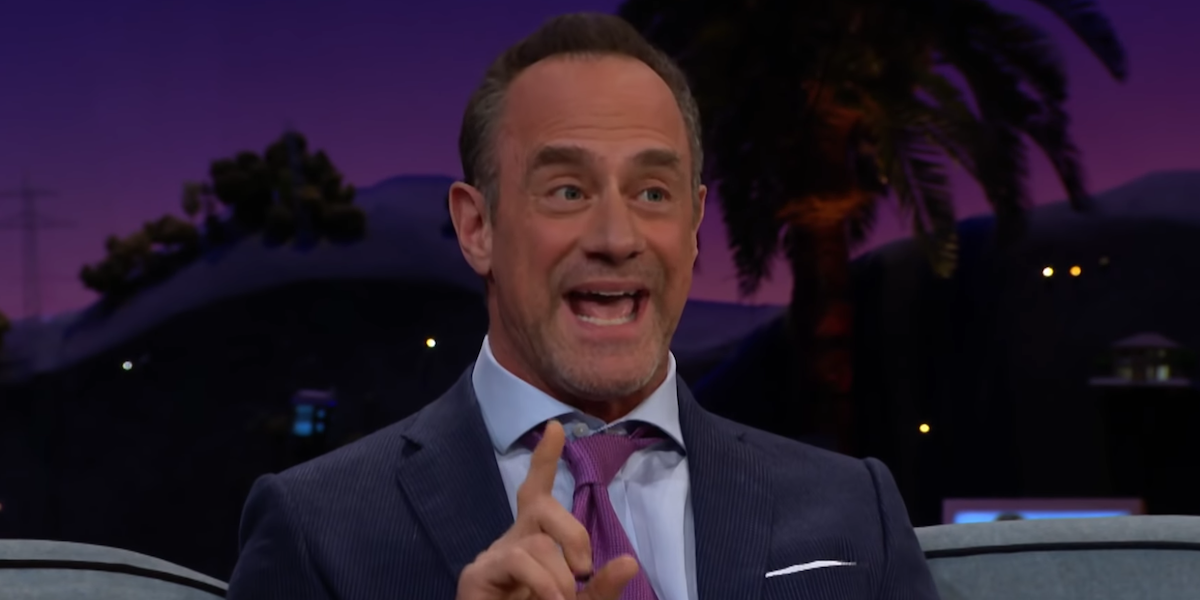 christopher meloni on the late late show