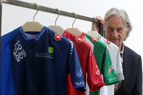 Sir Paul Smith and Dubai Tour jerseys for 2015
