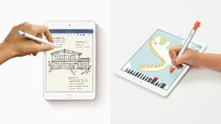Apple Pencil vs Logitech Crayon