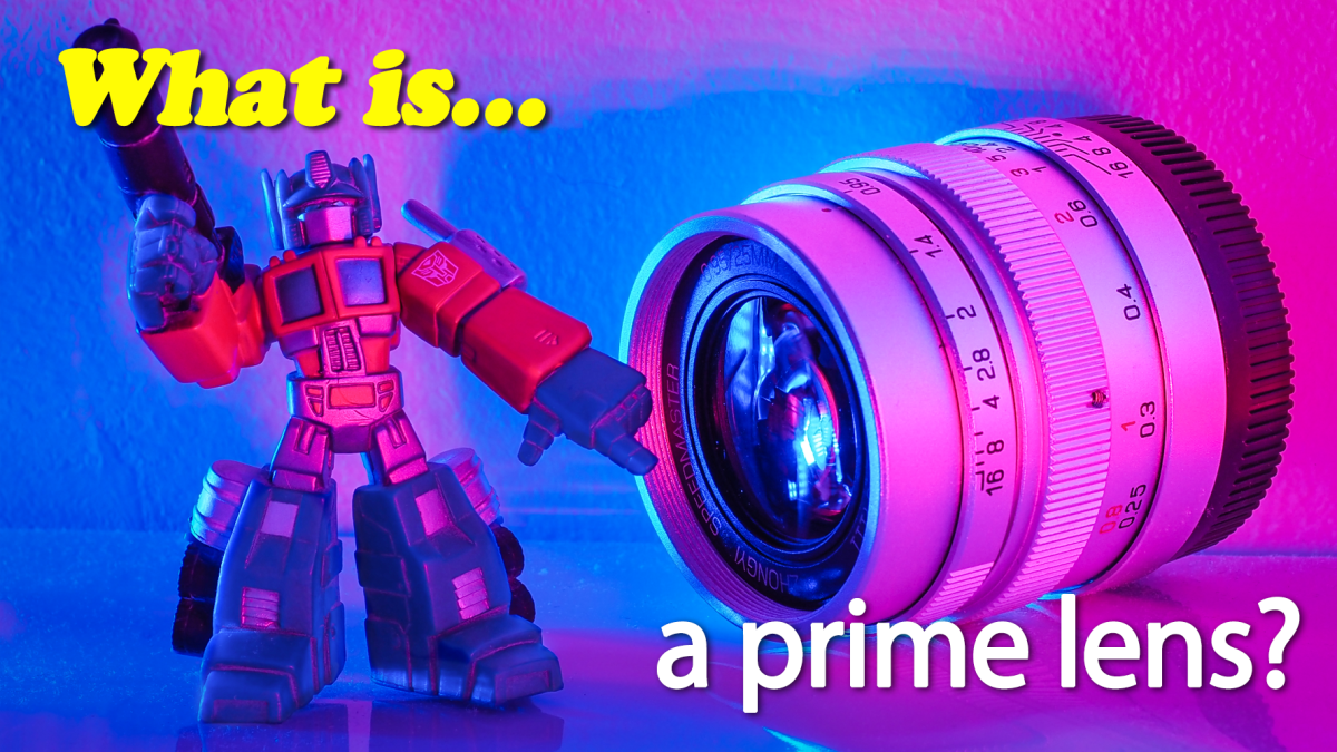 What is a prime lens?