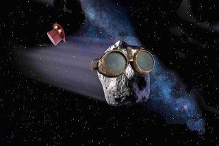 Steampunk lander