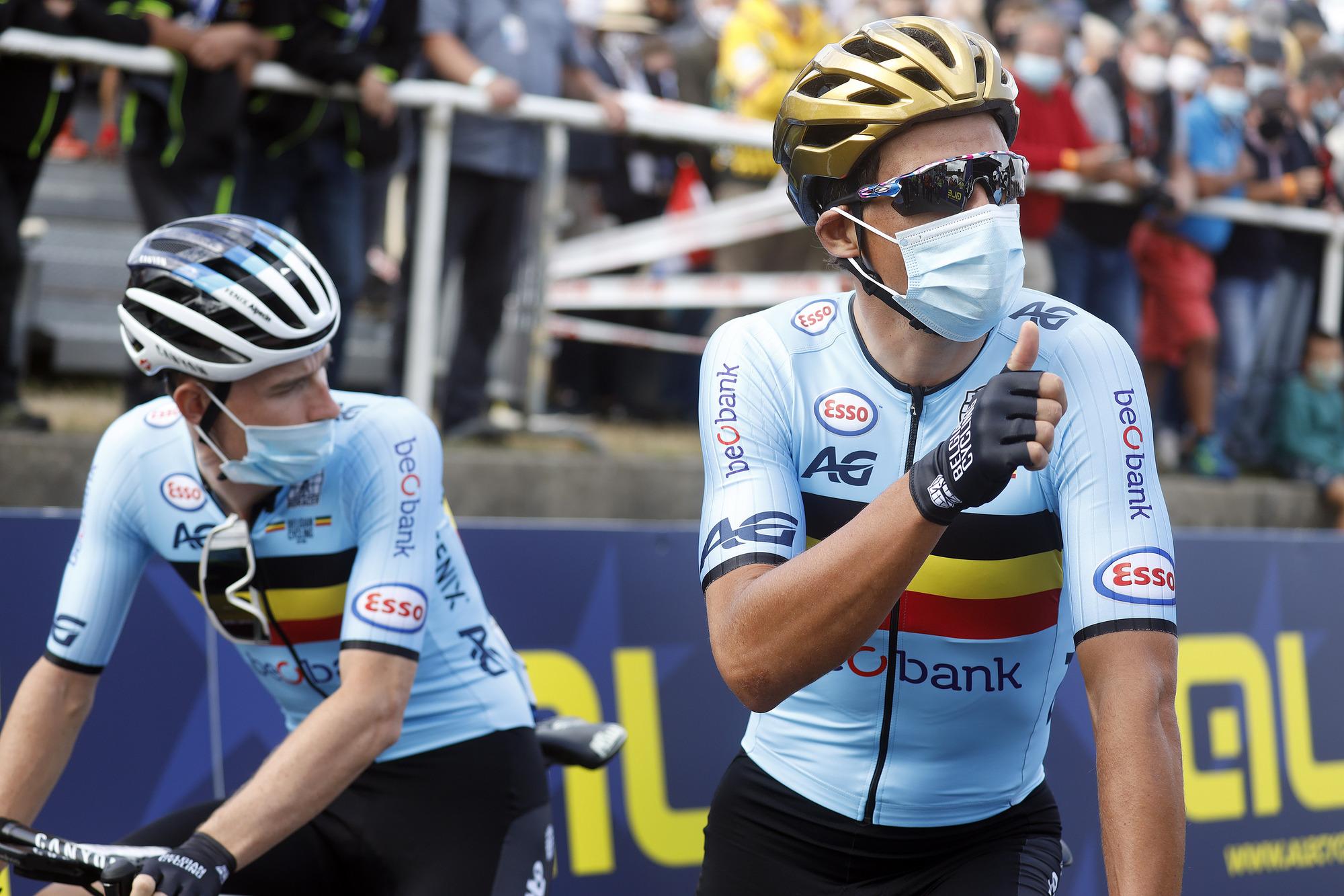 Greg van Avermaet seemed ready to lead Belgium