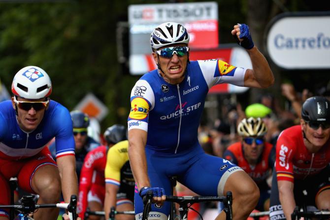 Marcel Kittel (Quick-Step Floors) wins stage 2 of the 2017 Tour de France