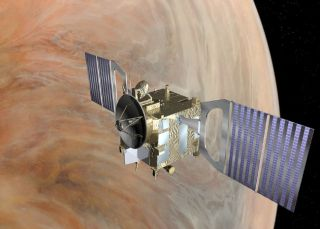 A Cloudy Target: Europe's Venus Express Probe to Explore Shrouded Planet
