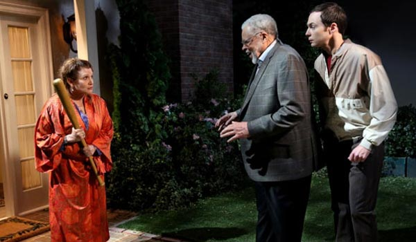 carrie fisher james earl jones sheldon the big bang theory cbs