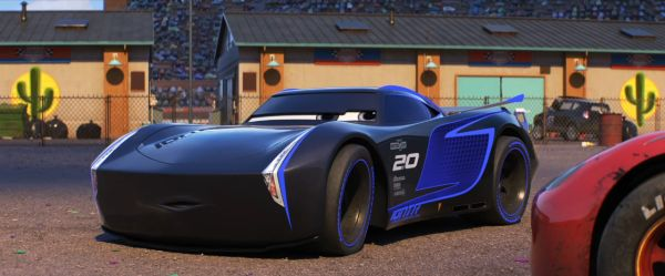 Jackson Storm in Cars 3