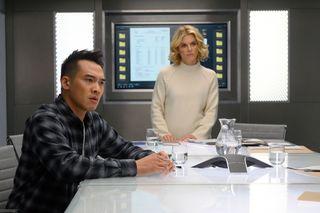 Silent Witness Season 24 Nikki Alexander with Adam