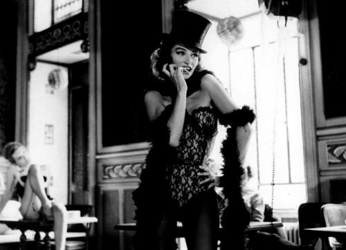 Lola - Raymond Cauchetier's iconic photo of Anouk Aimée in Jacques Demy's classic film