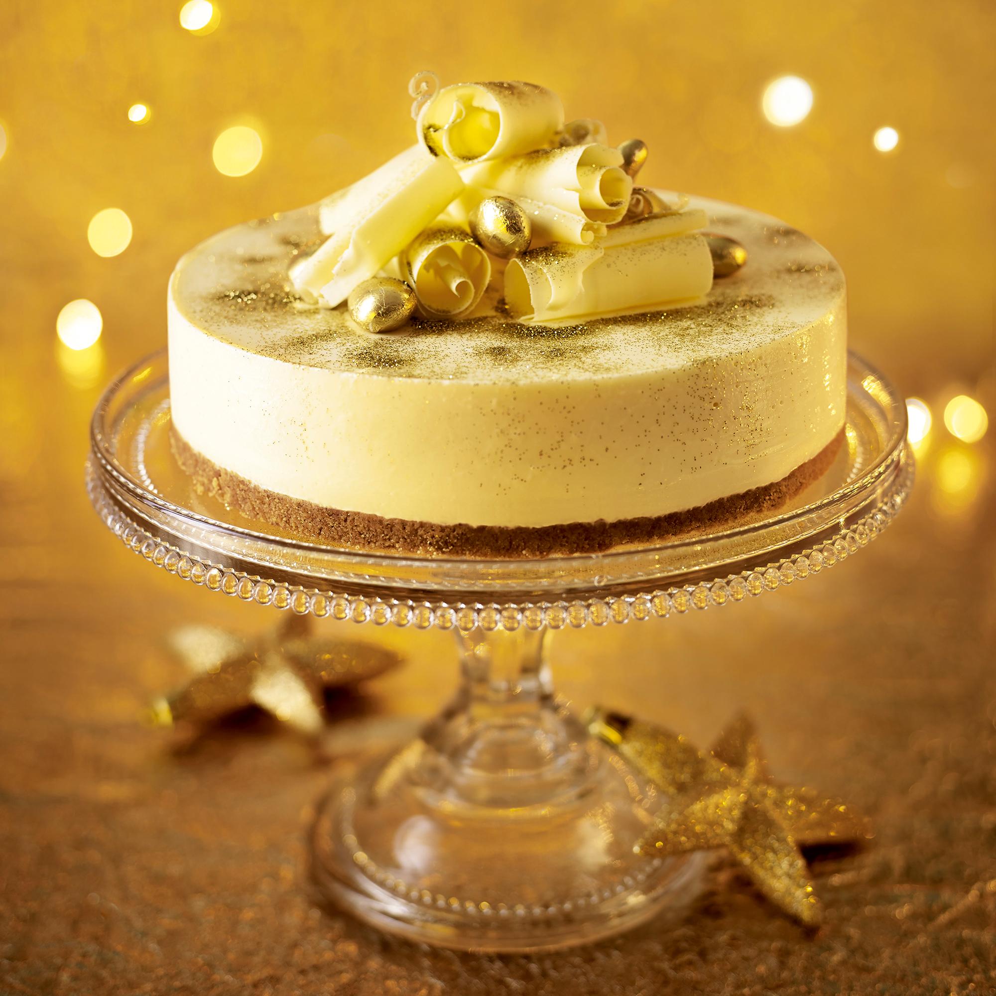 Christmas Cheesecake Ideas.White Chocolate Cheesecake