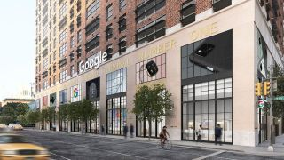 Google's new downtown retail space in New York
