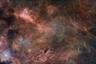 Gamma Cygni Nebula - Hancock
