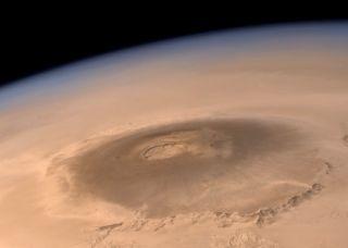Mars' Olympus Mons