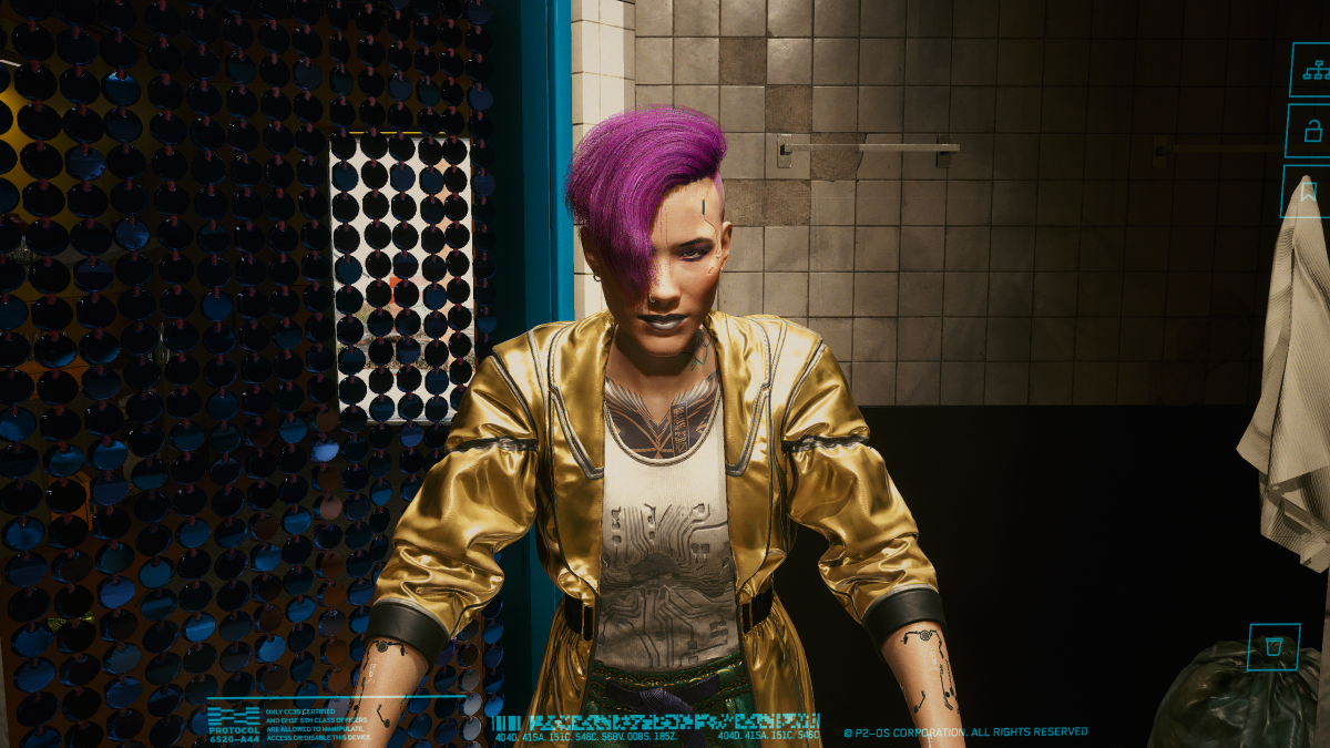 Yes, Cyberpunk 2077 has something to say