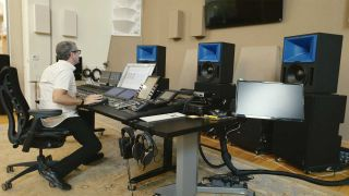 Meyer Sound Granted First Patent on Technology in Bluehorn System Studio Monitor