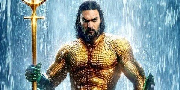 Jason Momoa as aquaman in armor