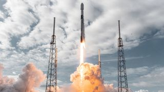 SpaceX's Falcon 9 rocket launched 36 Swarm Technologies satellites as part of its Transporter 1 rideshare mission in January 2021. SpaceX has filed paperwork with the FCC signaling its intent to acquire Swarm Technologies.