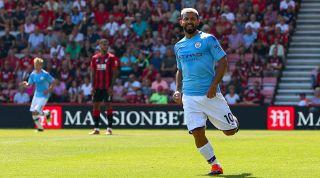 Premier League goals Aguero Bournemouth