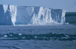 The Ross Ice Shelf, at the Bay of Whales, is the southern-most navigable point on Earth.