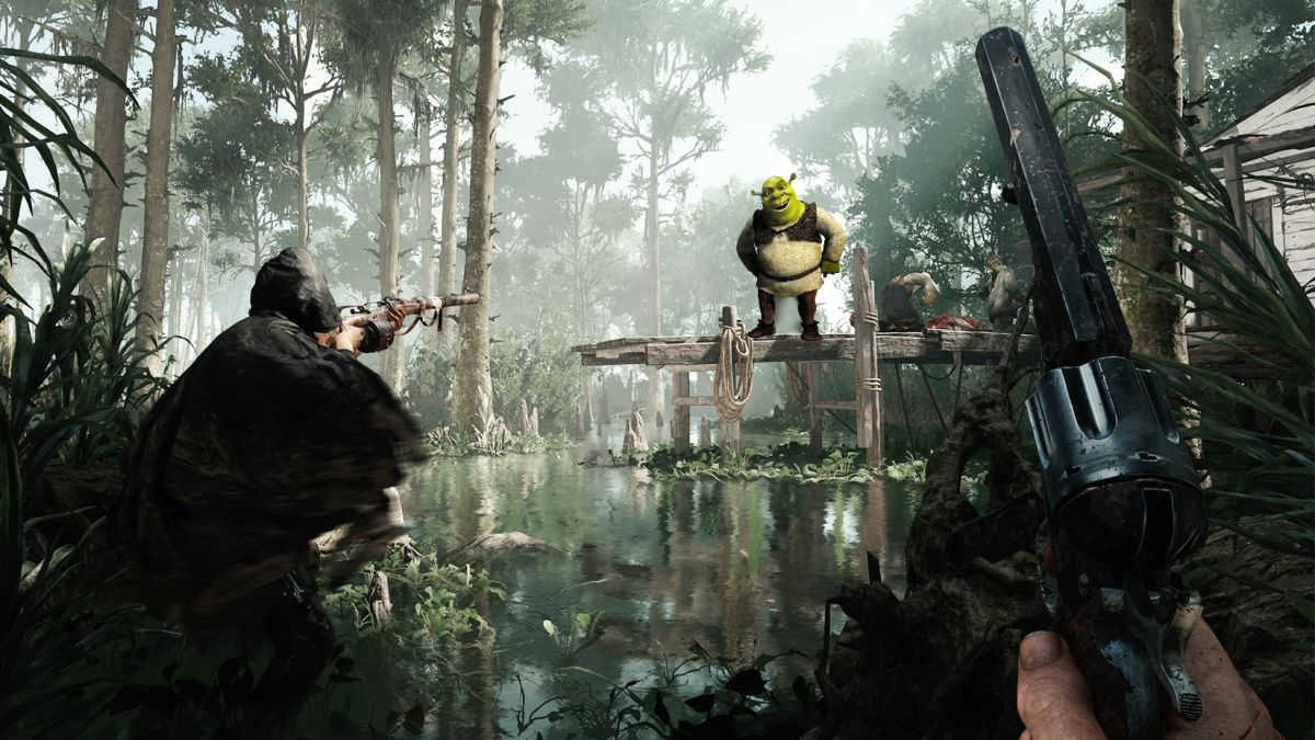 Shrek's house has been found on Hunt: Showdown's new map