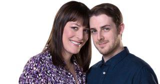 Harry Hepple and Rebecca Root in Boy Meets Girl