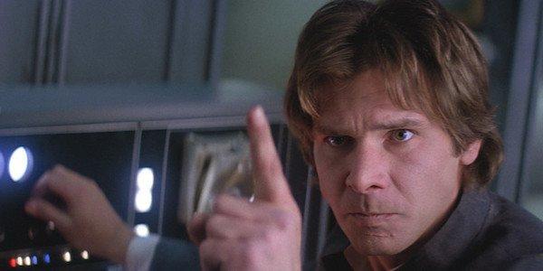 Han Solo in Empire Strikes Back