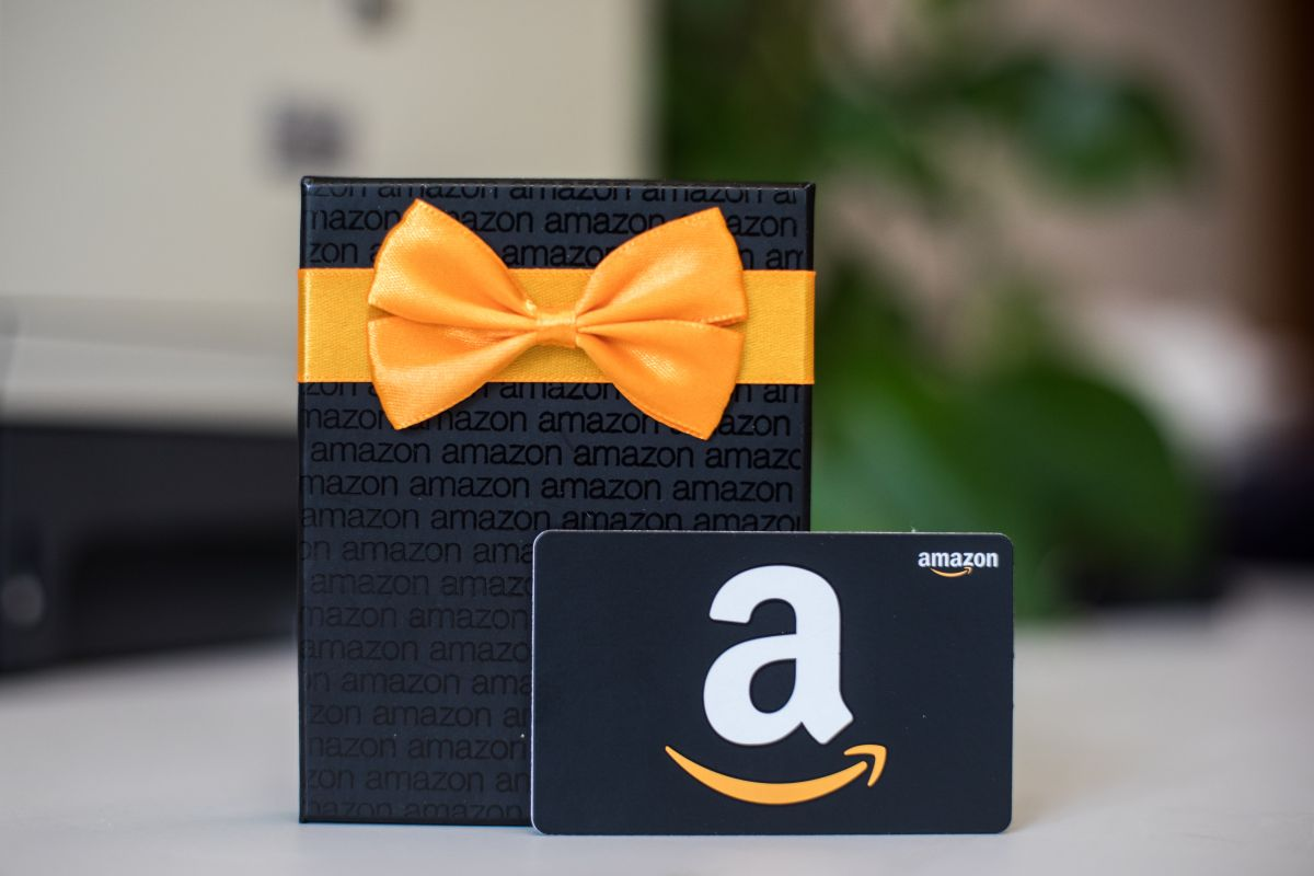Get a $10 Amazon gift card when you spend $50 at Amazon