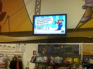 IMVINET Digital Signage at Hobby 2000 Toy Stores