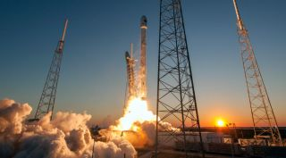 SpaceX Falcon 9 v1.1 Rocket Launches