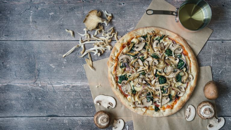 mushroom pizza recipe