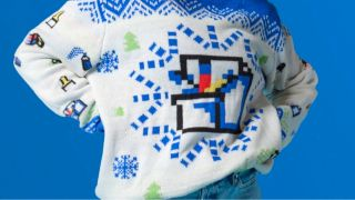 Ugly MS Paint Sweater