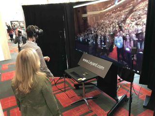 Leyard Treats TEDx Attendees to Virtual Standing Ovation