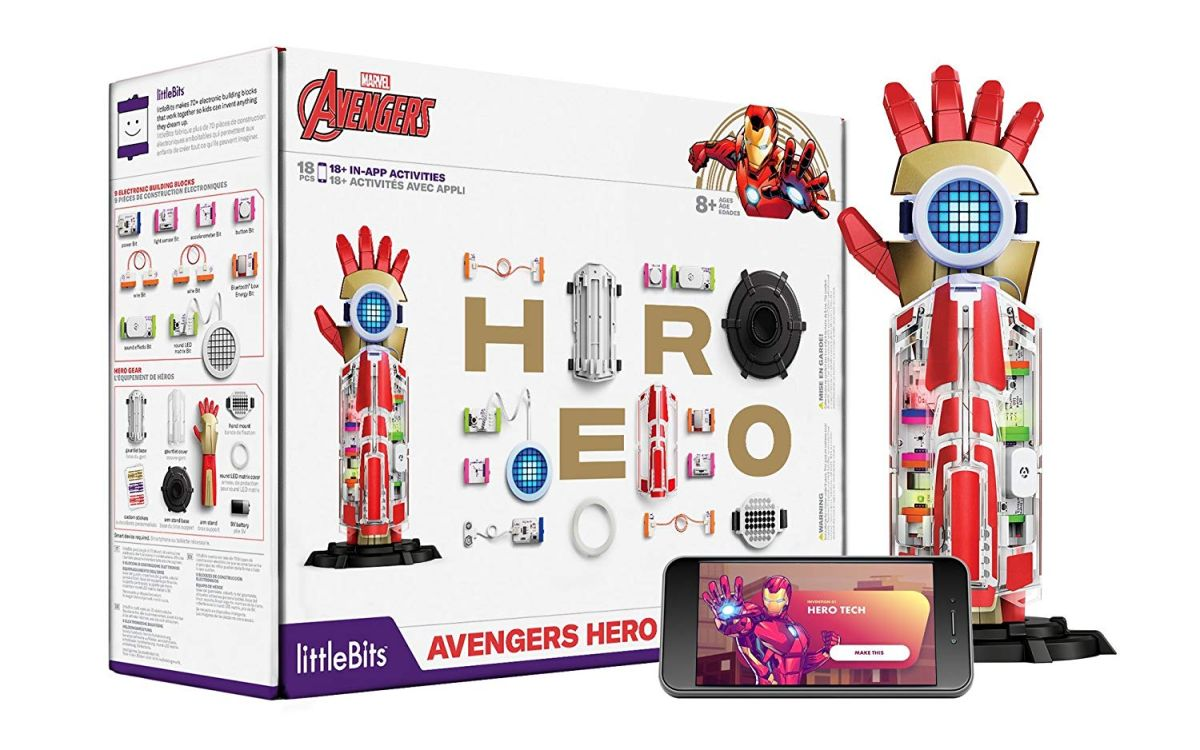 Cyber Monday 2018 Deal: littleBits Marvel Avengers Hero Inventor Kit