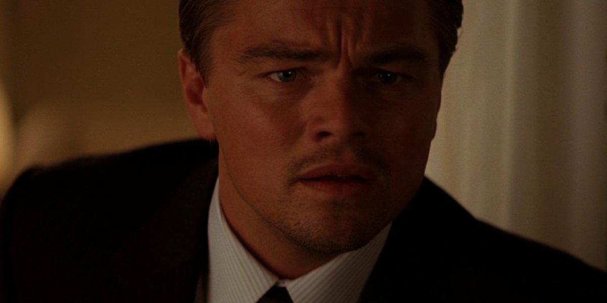 Leonardo DiCaprio as Dom Cobb in Inception