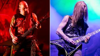 [L-R] Kerry King and Alexi Laiho