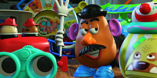 Mr. Potato Head in Toy Story