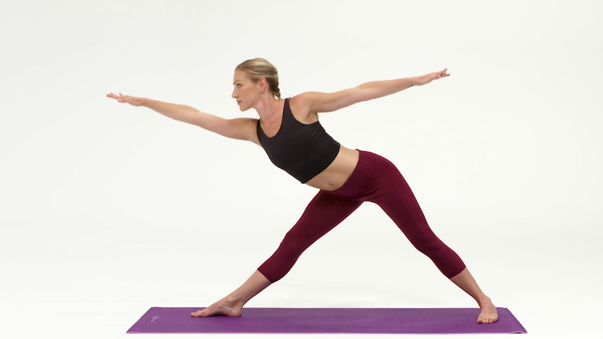 Best yoga mats: Gaiam Premium 2-Color Yoga Mat