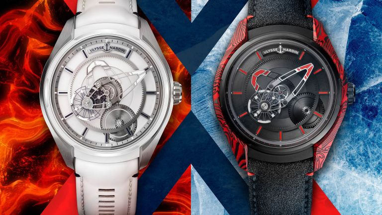 Volcanoes and polar ice inspire new Ulysse Nardin Freak X watches