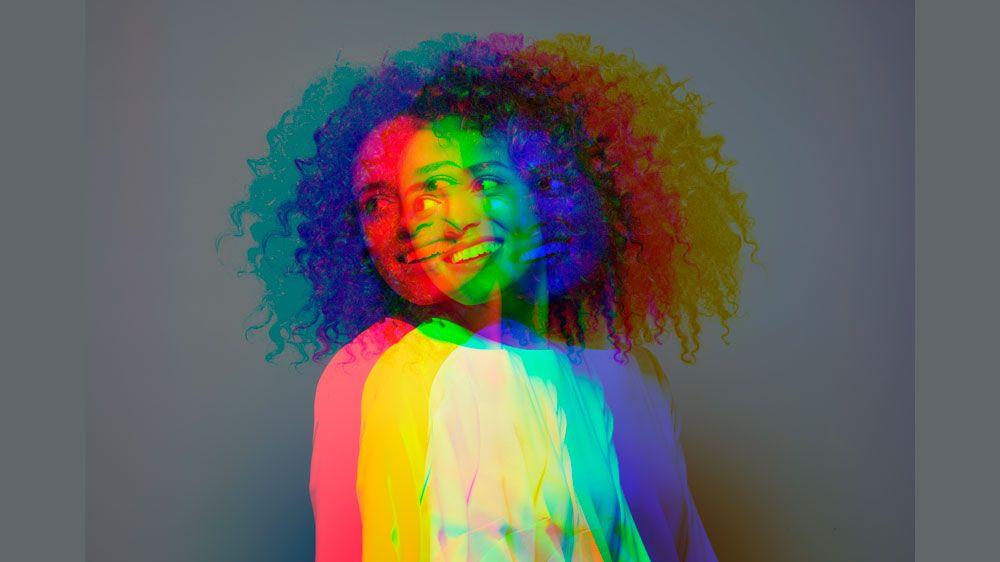 3 Stück Emotion Feeling Mood Color Wechselring mit Farbwechselkarte