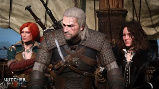 The Witcher 3: Wild Hunt - Geralt, Triss and Yennefer