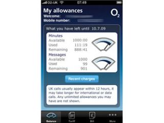 O2 unleashes iPhone app for account tracking