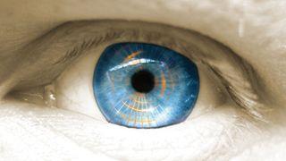 eye iris sensor