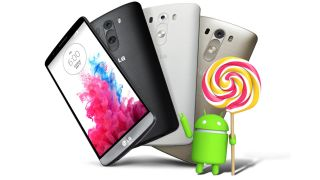 LG wins Android Lollipop race with G3 rollout