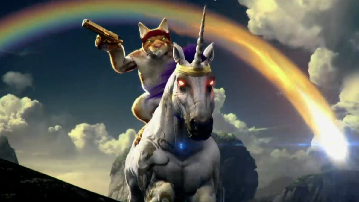 Trials fusion expansion features a cat riding a unicorn - Trial fusion unicorn ...