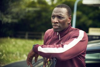 """Omar Sy as Assane Diop in """"Lupin"""" on Netflix."""