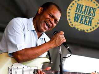 Cray preaches blues power in New Orleans last year