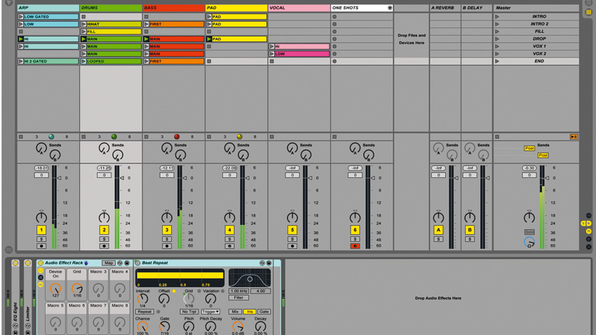 How to set up an Ableton Live project for live performance | MusicRadar