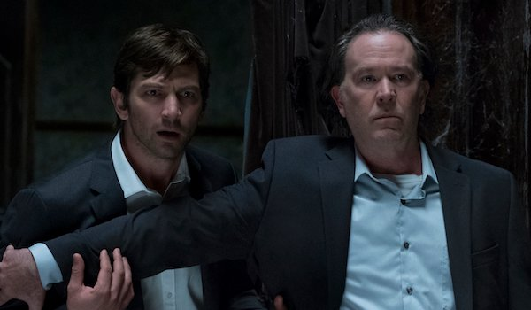 the haunting of hill house steven and hugh