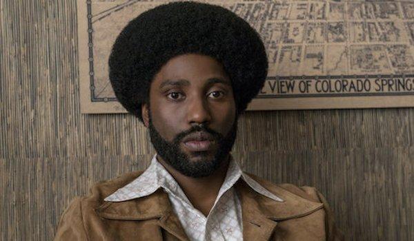 John David Washington in Spike Lee's BlackKklansman